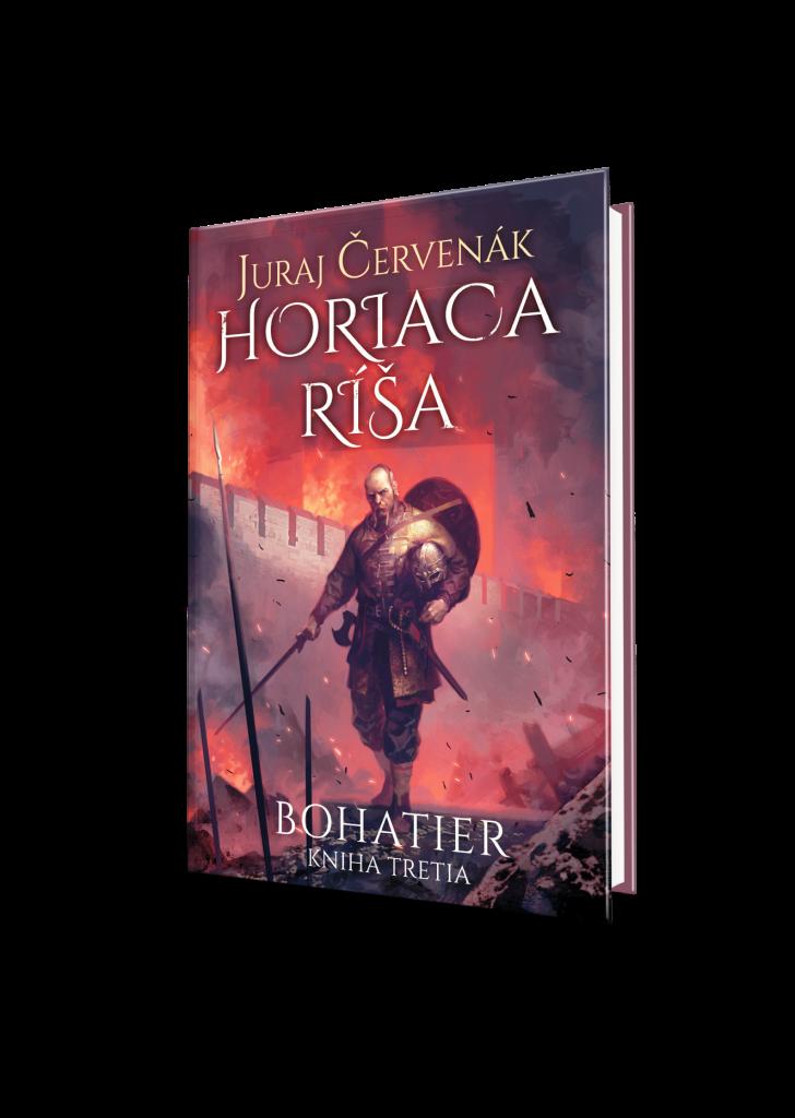 Juraj Červenák: Horiaca ríša, Bohatier - kniha tretia
