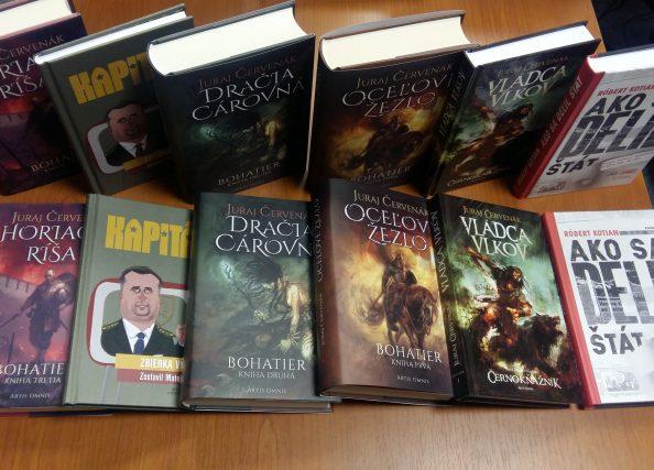 Silný Červenák, ale aj Kapitán Danko. Aké boli naše TOP knihy v roku 2018