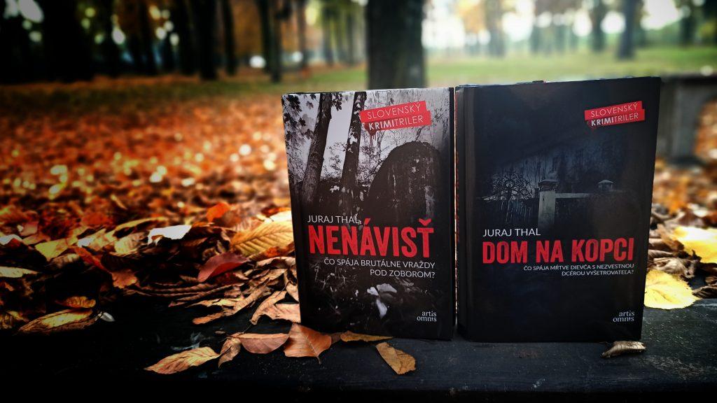 knihy Nenávisť a Dom na kopci - detektívky severského štýlu na Slovensku od Juraja Thala z vydavateľstva Artis Omnis