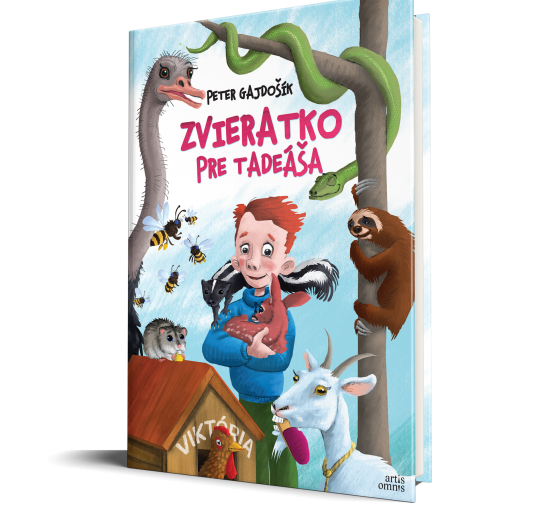 Peter Gajdošík: Zvieratko pre Tadeáša (vydanie 2021)