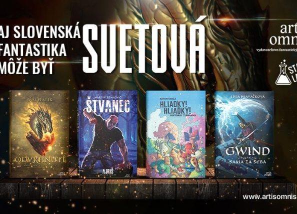 Aj slovenská fantastika môže byť svetová!